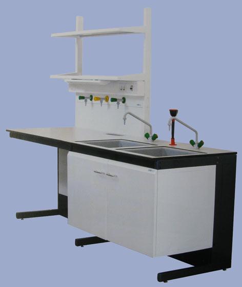 Столы с мойками лабораторные